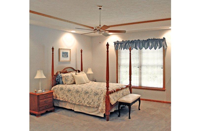Traditional Interior - Master Bedroom Plan #314-277 - Houseplans.com