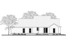 House Blueprint - Farmhouse Exterior - Rear Elevation Plan #430-188