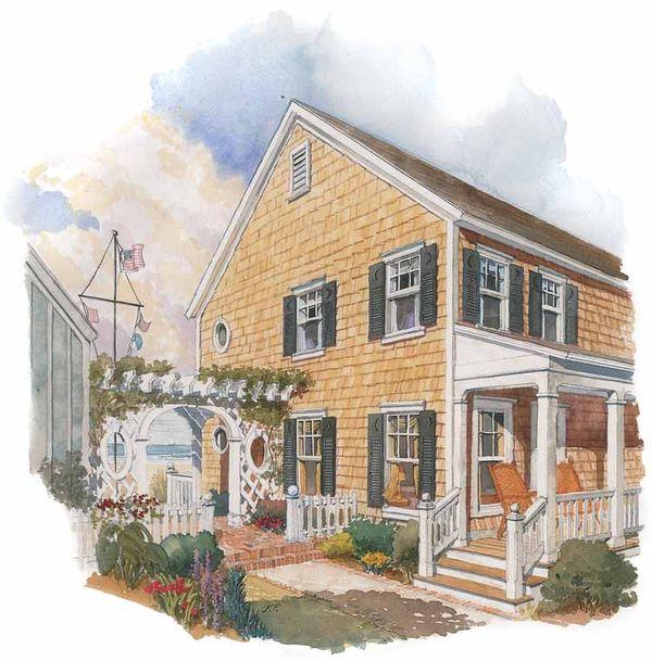 Colonial Floor Plan - Other Floor Plan Plan #429-202