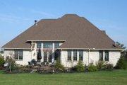 European Style House Plan - 4 Beds 3.5 Baths 2306 Sq/Ft Plan #1064-3 Exterior - Rear Elevation
