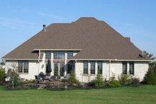 Architectural House Design - European Exterior - Rear Elevation Plan #1064-3
