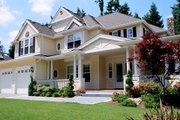 Country Style House Plan - 4 Beds 3.5 Baths 4430 Sq/Ft Plan #132-169 Photo