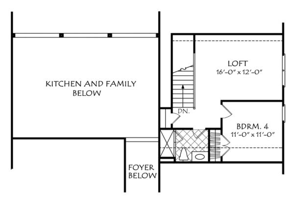 Traditional Floor Plan - Other Floor Plan Plan #927-960
