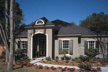 House Design - Mediterranean Exterior - Front Elevation Plan #417-747