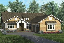 Architectural House Design - Craftsman Exterior - Front Elevation Plan #453-623