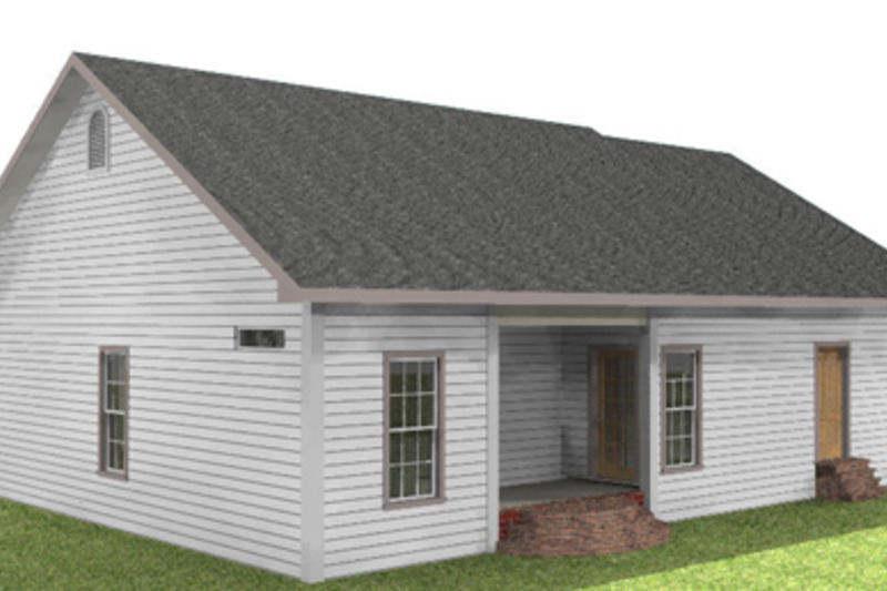 Country Exterior - Other Elevation Plan #44-159 - Houseplans.com