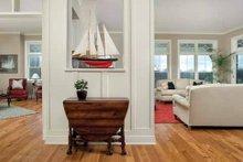 Victorian Interior - Family Room Plan #928-53