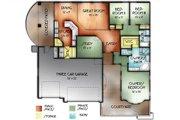 House Plan - 3 Beds 2 Baths 1725 Sq/Ft Plan #24-244 Floor Plan - Main Floor Plan