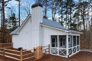 Country Style House Plan - 2 Beds 1 Baths 793 Sq/Ft Plan #437-98