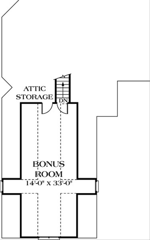 Traditional Floor Plan - Other Floor Plan Plan #453-31