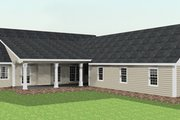 Country Style House Plan - 4 Beds 2 Baths 2435 Sq/Ft Plan #44-123