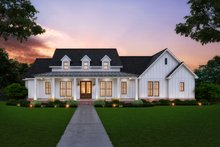 Home Plan - Farmhouse Exterior - Front Elevation Plan #1074-13
