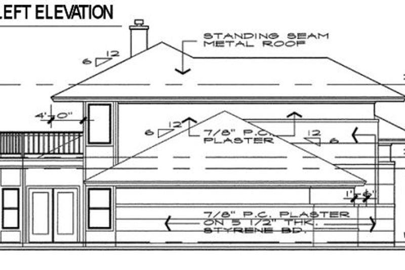 Prairie Exterior - Other Elevation Plan #120-109 - Houseplans.com