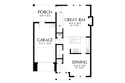 Cottage Style House Plan - 4 Beds 2.5 Baths 1687 Sq/Ft Plan #48-674 Floor Plan - Main Floor Plan