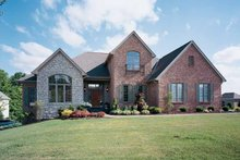 Traditional Exterior - Front Elevation Plan #46-529