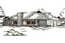 House Plan Design - Traditional Exterior - Front Elevation Plan #405-147