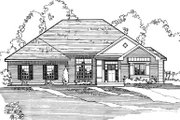 Traditional Style House Plan - 3 Beds 2 Baths 1870 Sq/Ft Plan #31-112 Exterior - Other Elevation