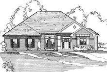 Traditional Exterior - Other Elevation Plan #31-112