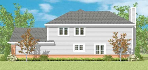 Traditional Floor Plan - Other Floor Plan Plan #72-1094