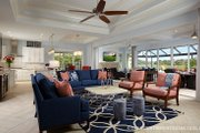 Mediterranean Style House Plan - 3 Beds 4.5 Baths 3394 Sq/Ft Plan #930-457 Interior - Family Room
