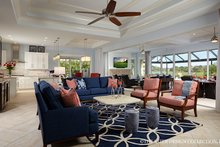 Mediterranean Interior - Family Room Plan #930-457