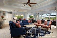 Dream House Plan - Mediterranean Interior - Family Room Plan #930-457