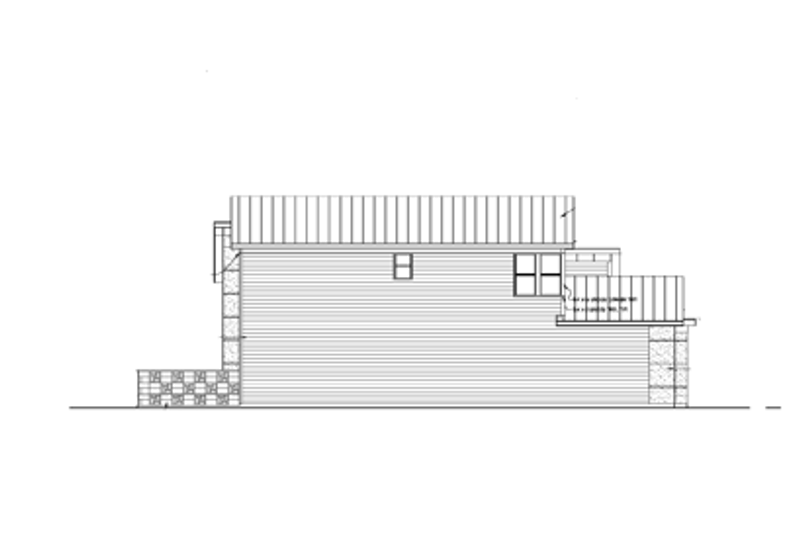 Exterior - Other Elevation Plan #569-19 - Houseplans.com