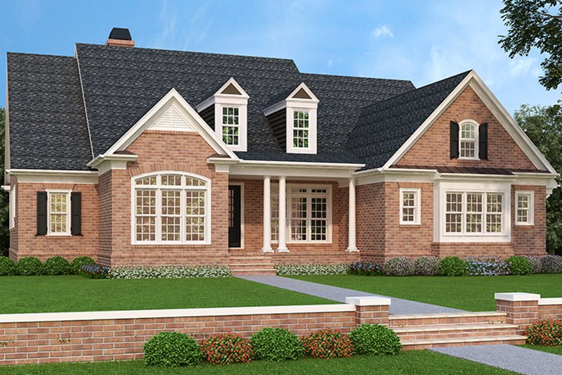 House Design - Traditional Exterior - Front Elevation Plan #927-478