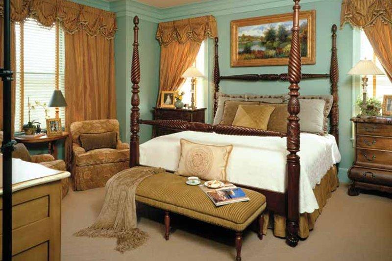 Colonial Interior - Master Bedroom Plan #429-327 - Houseplans.com