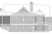 Craftsman Style House Plan - 3 Beds 3.5 Baths 3899 Sq/Ft Plan #929-931 Exterior - Rear Elevation