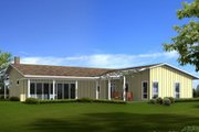 Ranch Style House Plan - 3 Beds 2 Baths 2599 Sq/Ft Plan #436-1