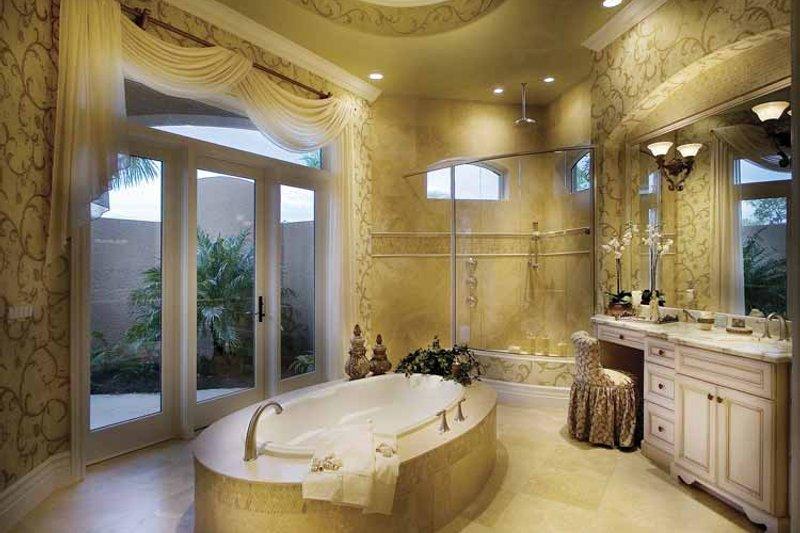 Mediterranean Interior - Master Bathroom Plan #930-417 - Houseplans.com