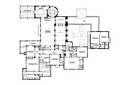 Mediterranean Style House Plan - 5 Beds 5 Baths 7411 Sq/Ft Plan #1058-16 Floor Plan - Upper Floor Plan