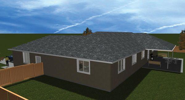 Home Plan - Ranch Floor Plan - Other Floor Plan #1060-31