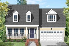 Traditional Exterior - Front Elevation Plan #1053-41