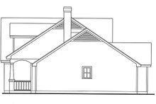 Country Exterior - Other Elevation Plan #42-676