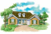 Country Style House Plan - 3 Beds 2 Baths 1487 Sq/Ft Plan #930-233 Exterior - Front Elevation