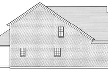 Dream House Plan - Colonial Exterior - Other Elevation Plan #46-843