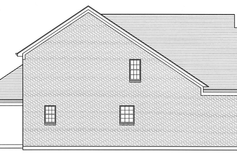 Colonial Exterior - Other Elevation Plan #46-843 - Houseplans.com