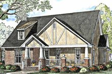 Craftsman Exterior - Front Elevation Plan #17-3012