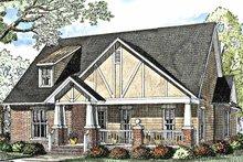 House Plan Design - Craftsman Exterior - Front Elevation Plan #17-3012