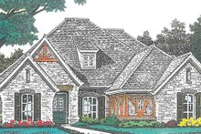 House Plan Design - European Exterior - Front Elevation Plan #310-1271
