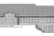Traditional Style House Plan - 4 Beds 2.5 Baths 2136 Sq/Ft Plan #70-315 Exterior - Rear Elevation