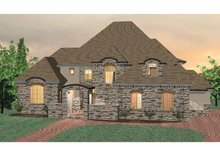 Home Plan - Country Exterior - Front Elevation Plan #937-11