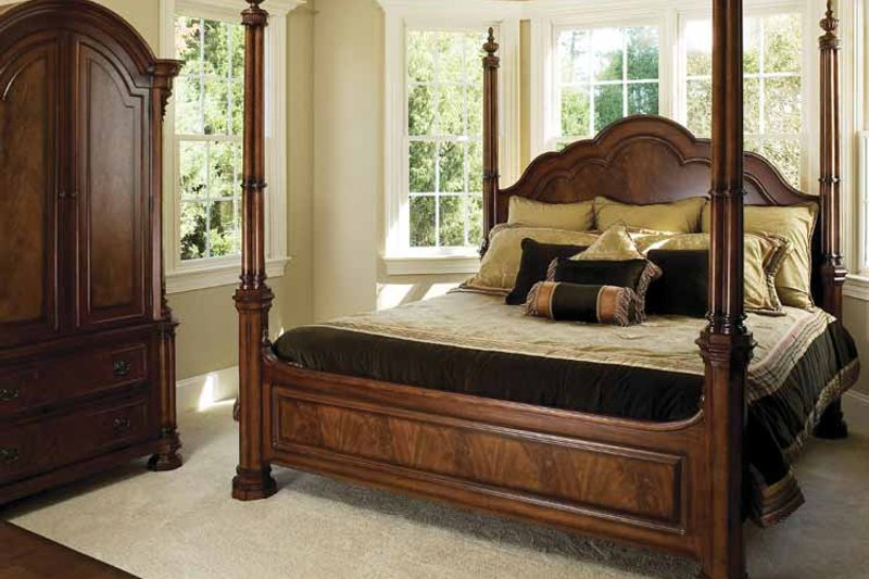 Traditional Interior - Master Bedroom Plan #929-708 - Houseplans.com