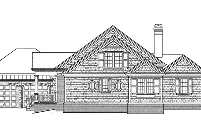 Classical Exterior - Other Elevation Plan #429-248 - Houseplans.com