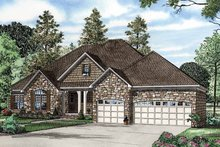 Architectural House Design - Contemporary Exterior - Front Elevation Plan #17-2763