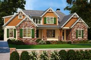 Country Style House Plan - 3 Beds 2.5 Baths 2522 Sq/Ft Plan #927-984 Exterior - Front Elevation