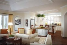 Dream House Plan - Country Interior - Kitchen Plan #938-14