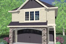 Craftsman Exterior - Front Elevation Plan #509-190